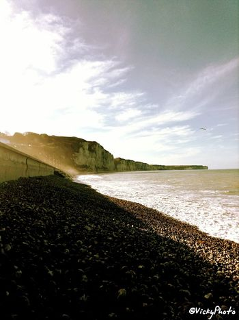 Vickyphoto mer agité :) Paysage Landscape French Playa Photography Relaxing France Seine Maritime Normandie France Haute-Normandie Normandy
