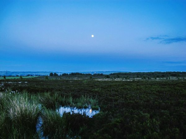 Two moons The OO Mission Moon Moons Moonlight Moon Shots Moon_collection Moonporn Moonphotography Pond Nature Landscape Reflection Reflections Water Water Reflections Water_collection Norland Moor Norland Sky Moors Grass Hills Walk Walking Fine Art Photography