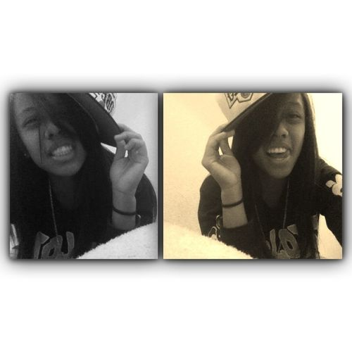 Smiling Becus I Knw Kuuups Is Watching Over Me :) I Love You Baby Girl <3