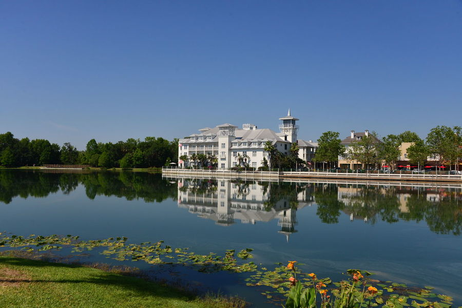 Celebration Florida. A beautiful town to visit. 🇺🇸 Travel Destinations Water Sky Politics And Government Architecture Government Dome Outdoors Cityscape Day No People