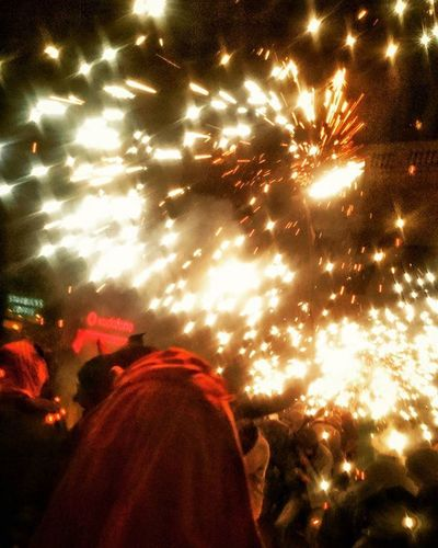 Correfoc Barcelona Fireworks Bcn Lamerce Merce2015 Catalunya Fiesta Festival Fire Devils  Foc Firerun Festes Merce Festamajor Instagood Lamerce SPAIN Vialaietana Bcndetails Wanderlust Besties Merce15 2015  mercè2015 lamerce2015