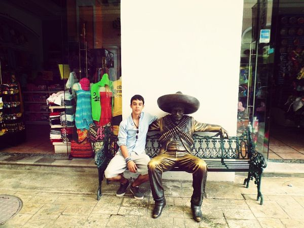 Street Fashion Traveling Selfportrait Vacation in Cancun
