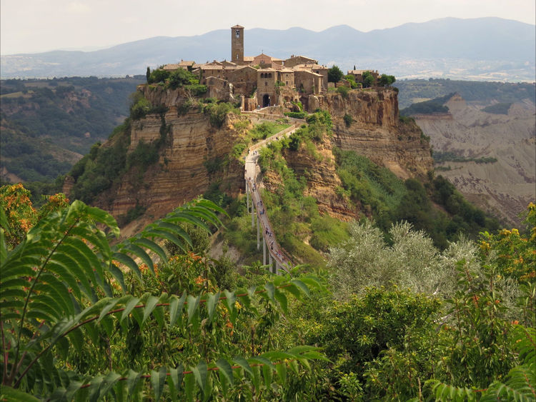 Architecture Beauty In Nature History Landscape_photography Old Village Outdoors Scenics Sheer Cliff Tuff Civita Di Bagnoregio Miles Away An Eye For Travel