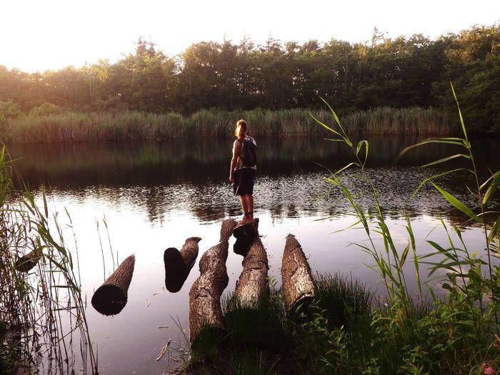 Lake Nature Standing Alone