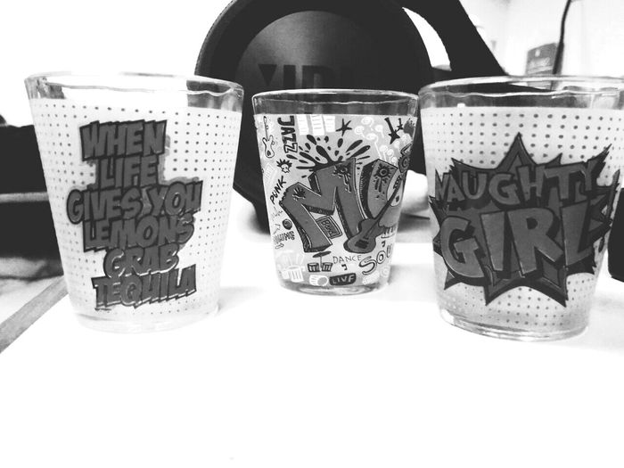 Shot Glasses Booze Party 11pm Fridaynight Girls Night Out JBLspeakers Eyemweek EyeEm Best Shots - Black + White Lowangleview Shotglasscollection About To Party Loudmusic PerfectNight Black And White Monochromatic Random Photo Time Welcome To Black