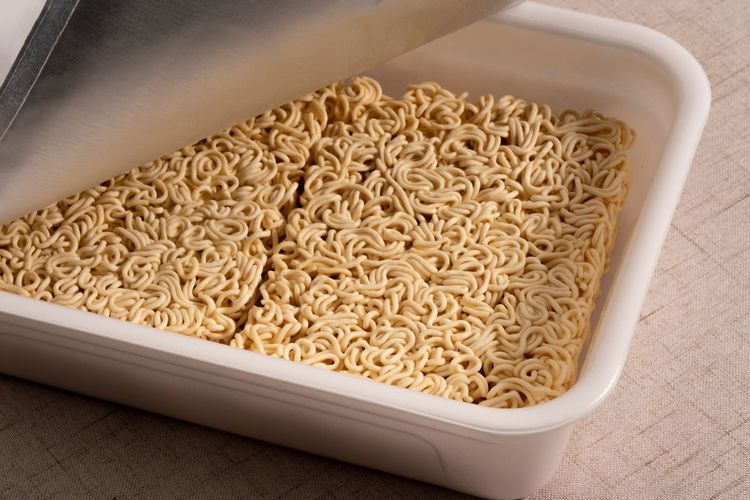 Noodles Instant Noodles Food Food And Drink Healthy Eating Wellbeing Indoors  Pasta No People Freshness Container Raw Food High Angle View Seed Close-up Still Life Large Group Of Objects Directly Above Box Tray Abundance
