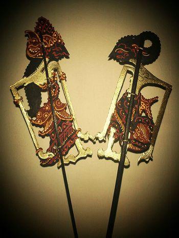 Wayang Art bookmark INDONESIA Asian Culture