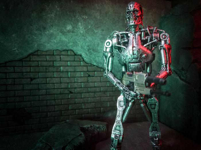 Terminator T800 Endoskeleton Necatoys Neca Toyphotography