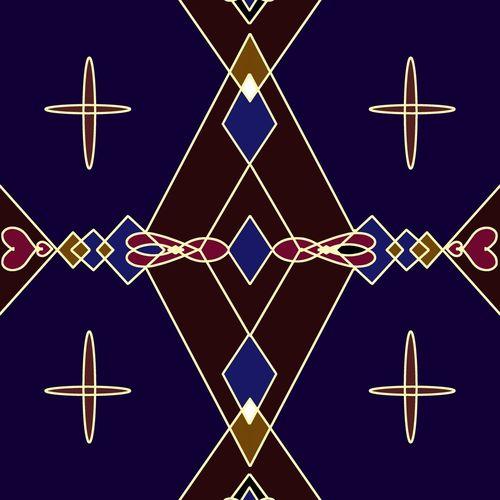 Digital composite image of cross against blue sky