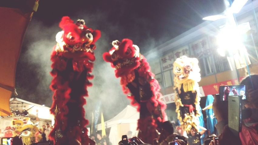 The Places I've Been Today Chinese New Year festivities Cny 2015 Lion Dance