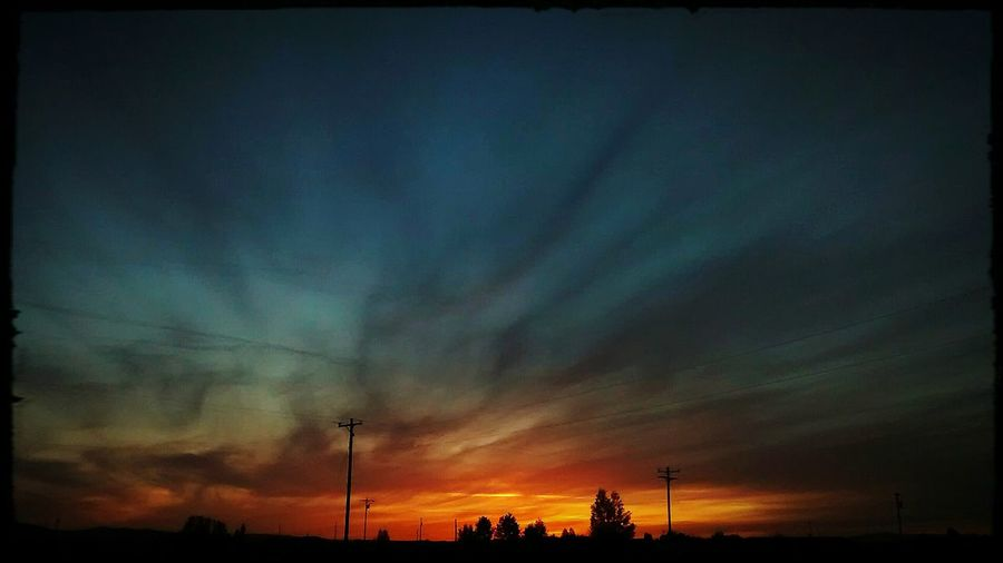 Tonight's Sunset. Always Awesome! Taking Photos Check This Out Enjoying Life Outdoor Pictures My View Atmospheric Mood Awesome_shots Horizon Skyporn Sky Coolpic Clouds And Sky Sky_collection Oregon May 2016 Looking Out My Front Door Chemtrails GeoEngineering Whatthefuckaretheyspraying The Great Outdoors With Adobe