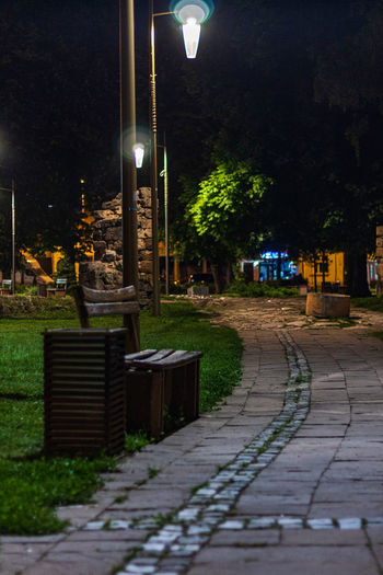Park Kale at night Grass Night Pirot Bench Street Photography Trees Parks Serbian Nature Serbia Paving Benches Stone Park Street Green Travel Wooden Bench Pavement Wood Illuminated Lighting Equipment Architecture Footpath Plant City Built Structure The Way Forward Building Exterior Direction No People Tree Street Light Building Outdoors Dusk Sidewalk Light Electric Lamp Paving Stone The Street Photographer - 2019 EyeEm Awards