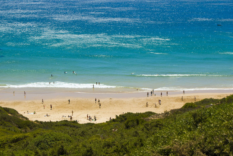Beach Beauty In Nature Blue Bright Coastline Horizon Over Water Large Group Of People Nature Ocean Ocean Portugal Ocean View Outdoors Portugal Real People Sand Sand Ahn Water Scenics Sea Serf Serfing Sky Sport Summer Tourism Water The Great Outdoors - 2017 EyeEm Awards