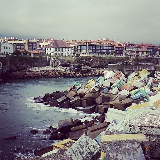 En puerto de llanes Asturias Puerto Turismo Semanasanta2015 SPAIN Bellezanatural Nature Photography Travel Photography