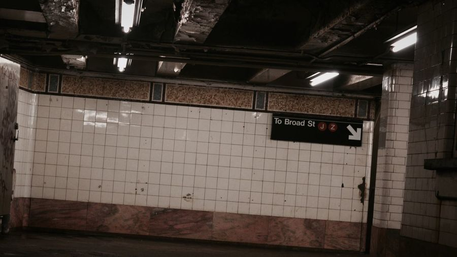 -Broad St- Broad Street NYC NYC Photography Subway Grunge Vintage EyeEm Best Edits NYC Subway Walking Around The City  The Way Forward Urban