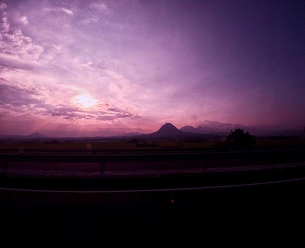 roadtrippin Roadtrip Subic Zambales Sunset Nature Purple Sky Travel Mobile Photography LG  G6