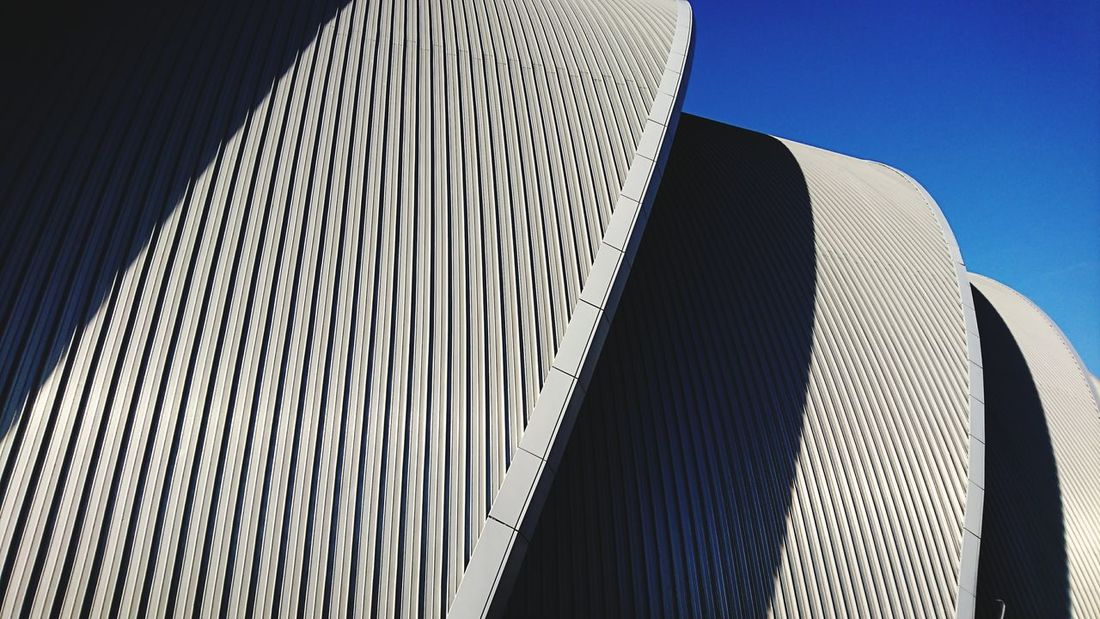 Modern Low Angle View Pattern Architecture Sky No People Day Outdoors Sony Taken With Xperia Travel Photography Low Angle View Building Exterior Built Structure Architecture