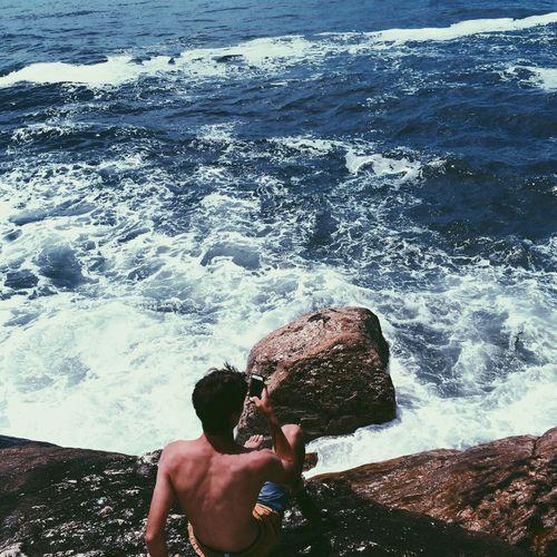 Sea kid Sea Water Majestic Travel Destinations Nature