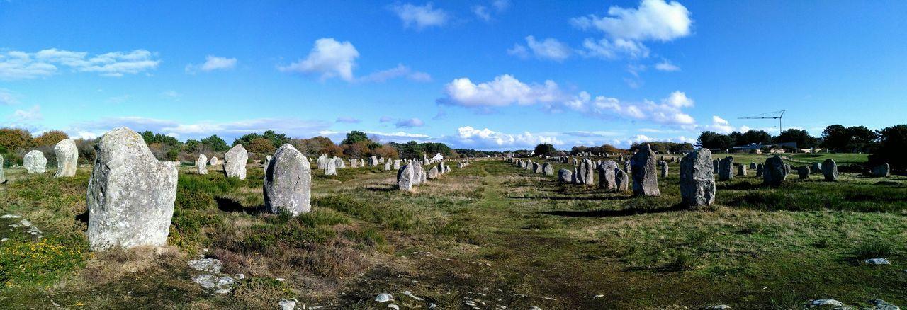 Menhirs Druid's Secret Place Outdoors Landscape Travel Destinations Nature Tranquility