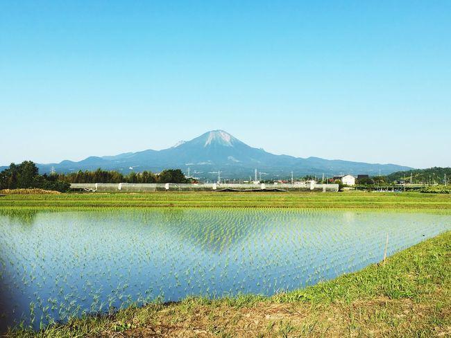 大山 鳥取県 鳥取 逆さ大山 Mtdaisen Daisen Tottori Japan Yonago Mirror Mountain