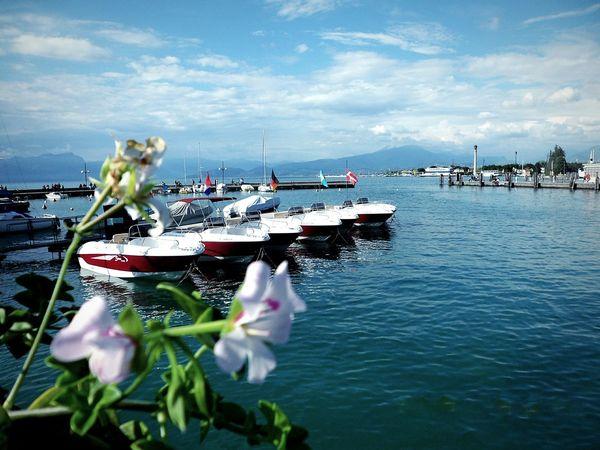 Cobalt Blue By Motorola Lago Di Garda PeschieraDelGarda Lake Blue Lake