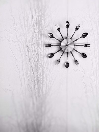 Blackandwhite Clock Design Vintage