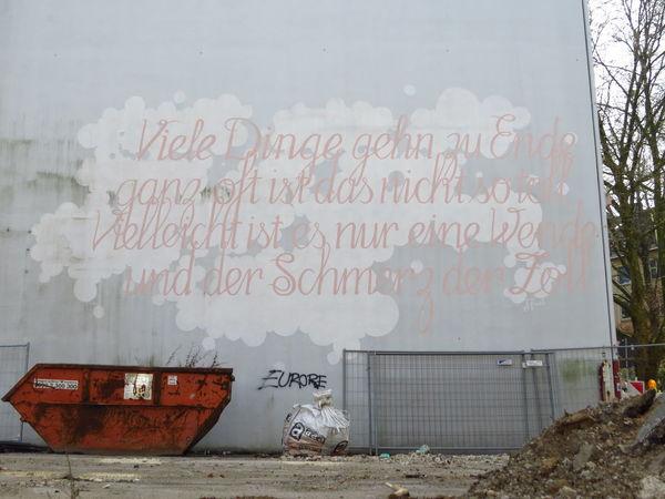 Communication German German Language Graffiti Handwriting  Mural Poem Poetic Poetry Poetry In Pictures Reading Street Art Street Poetry Streetart Streetart/graffiti StreetArtEverywhere Text Typography Urban Art Urban Poetry UrbanART Wall Wall - Building Feature Writing Writing On The Walls