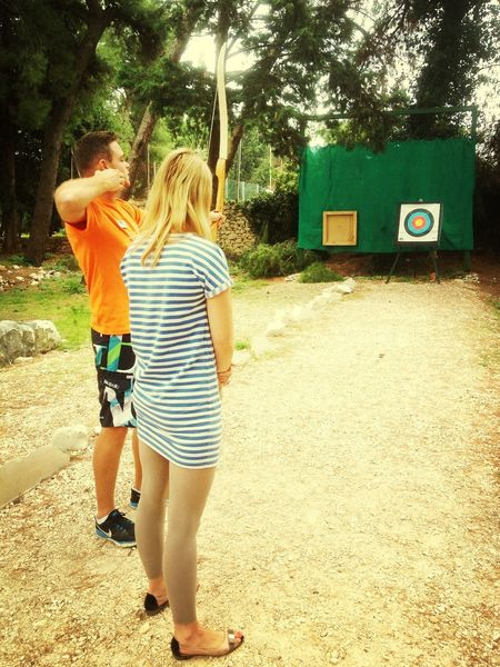 ~ Come play archery .!!