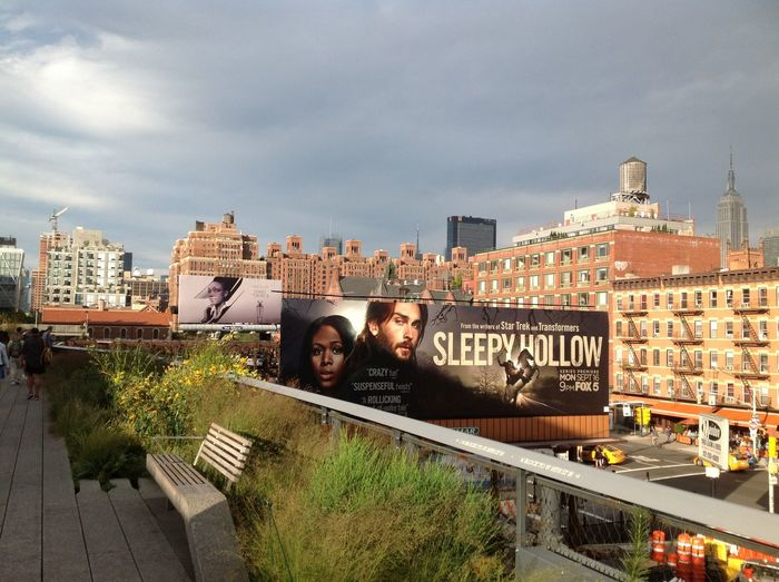 #The High Line # New York # Manhattan Beautiful Buildings Elevated Railway Lush Horticulture Manhattan New York City New York City Skyline Public Park The High Line, Downtown , Manhattan