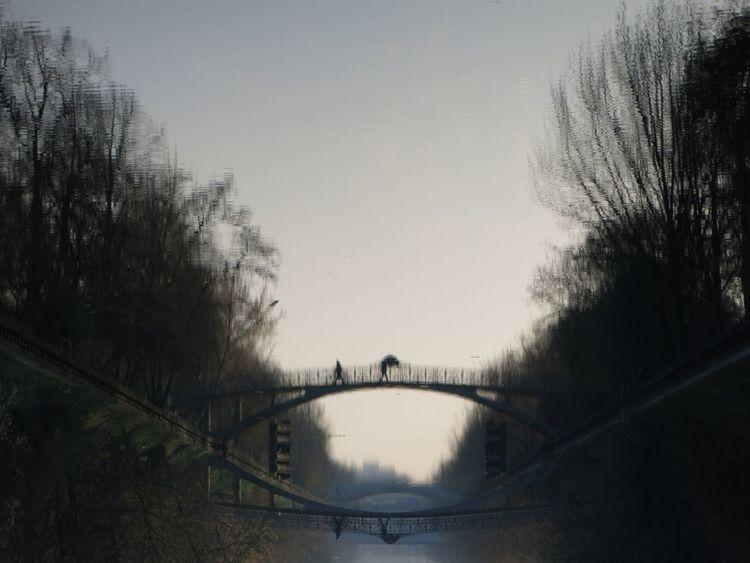 Berlin Better Look Twice Bridge Germany Paul Linke Ufer Water