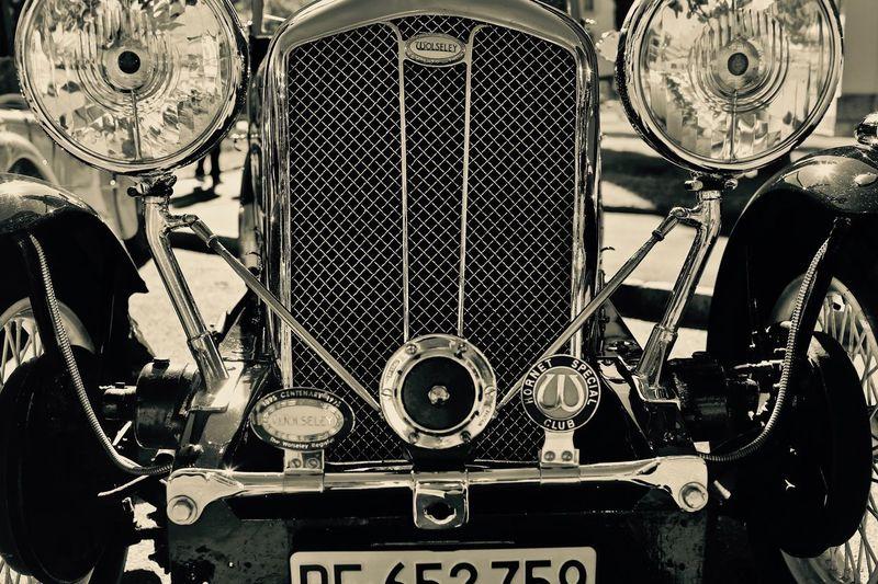 Wolseley grille British Car Classic Car EyeEm Best Shots The Week On EyeEm Wolseley Car Front View Land Vehicle Transportation Vintage Car