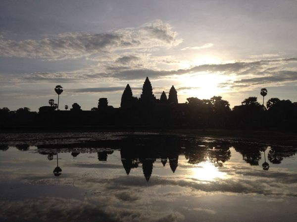 Beautiful sunrise in Angkor Wat EyeEm Best Shots Travel Photography Temple Run 2 Photographic History