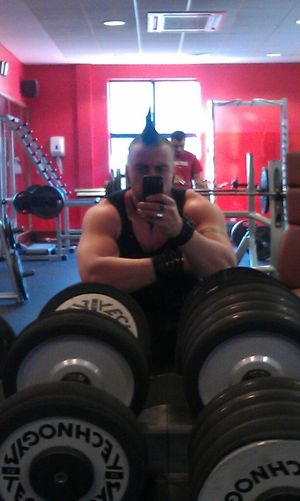 Gym Man Gymratin
