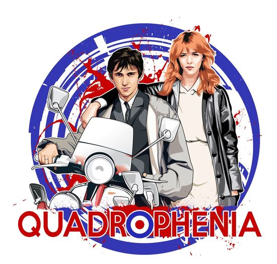 New #Quadrophenia design just made vector design. What you think? Available now on a lot of products Quadrophenia