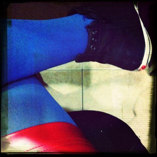 Red Blue Black
