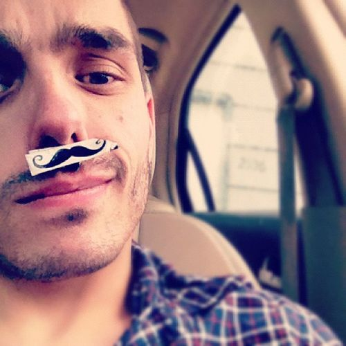 Today's, been silly. And it started out perfectly. Mustache Goofythings Ducktape Goodmoods