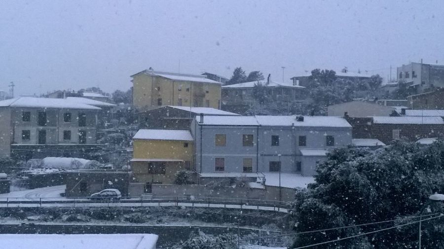 Neve in città... First Eyeem Photo