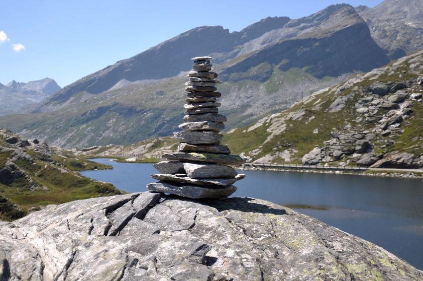 Stone Tower Mountains Pebble Rock Rocks Stack Stone Stone - Object Stone Tower Structure Towers