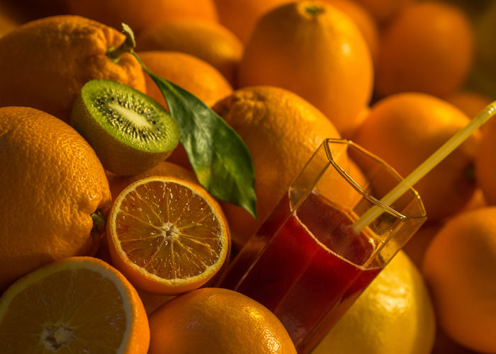 orange and geen Juice Nature StillLife Citrus Fruit Close-up Composition Of Fruits Day Edithnerophotography Food Food And Drink Freshness Fruit Healthy Healthy Eating Healthy Lifestyle Indoors  Kitchen Kiwifruit No People Orange - Fruit Orange Color Oranges Vitamines