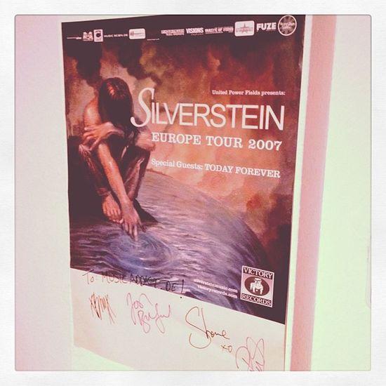 Einfach eine Super Band! Bald wieder Live! #Silverstein Silverstein