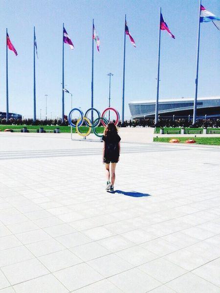 Sochi Hot.cool.yours. Relaxing Enjoying Life Olympic Stadium