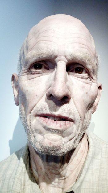 Evan Penny Mostra Venezia One Man Only Human Face Portrait One Person Human Body Part Men Arte