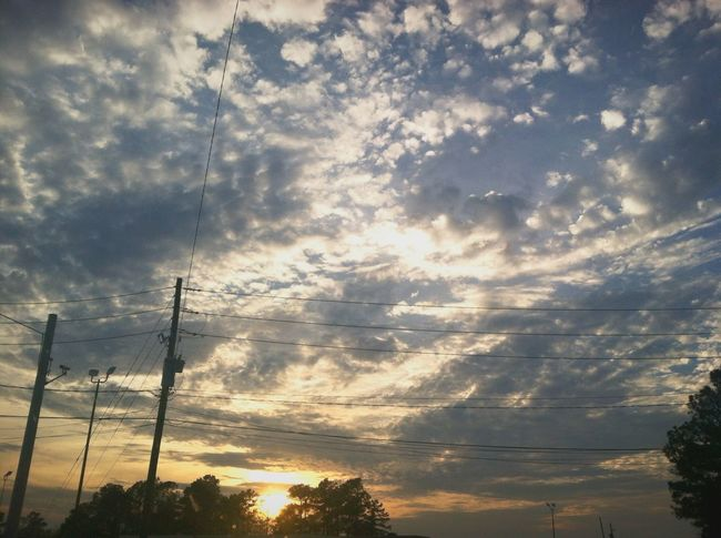 Beautiful Sky Sunset Lovely <3 <3 <3