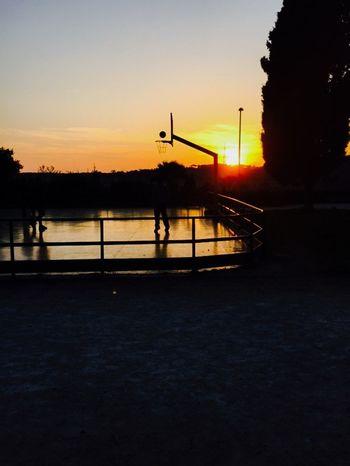 Sunset Friday Mood Lost