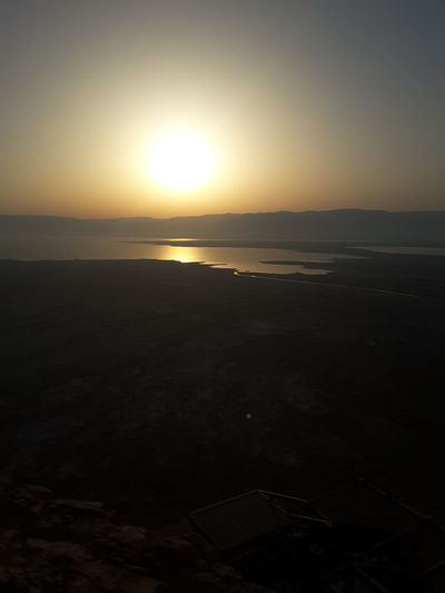Sunset Sea Beach Tourism Nature Beauty In Nature Tranquility Scenics Sun Travel Destinations Sky No People Horizon Over Water Landscape Water Tranquil Scene Outdoors Travel Vacations Horizon Summergefühle Israel Masada Silhouette Reflection
