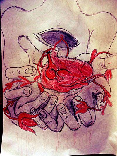 Heart Tamer Heart Leander Rising Art Draw