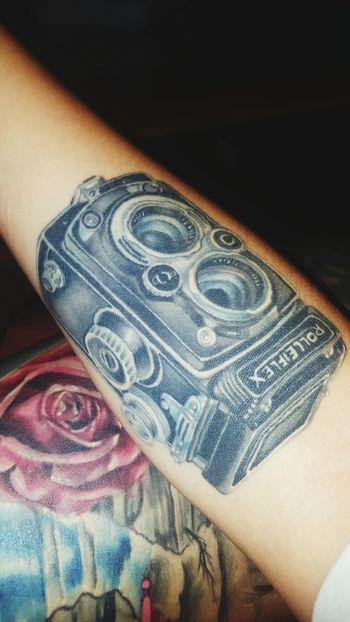 Tattoo Tattooedgirls Rolleiflex Thightattoo Forearm Tattoo Ink
