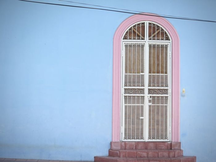 Architecture Blue Central America Colors Door Nicaragua Rosa Traveling