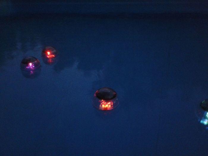 Gestern Abend am Pool