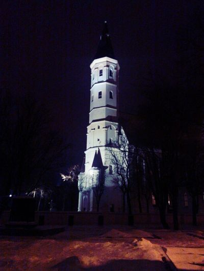 Church @ Night